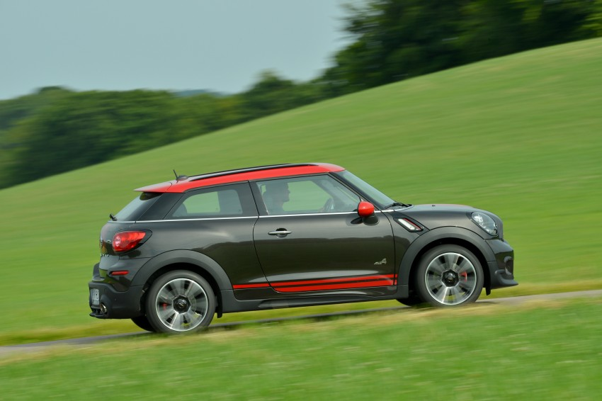 GALLERY: MINI Countryman, Paceman facelift detailed Image #258547