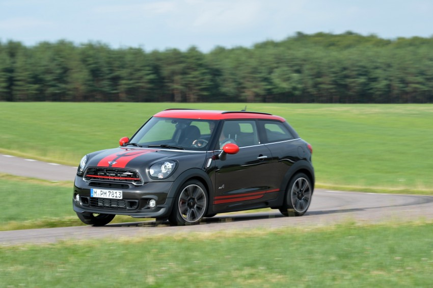 GALLERY: MINI Countryman, Paceman facelift detailed Image #258555