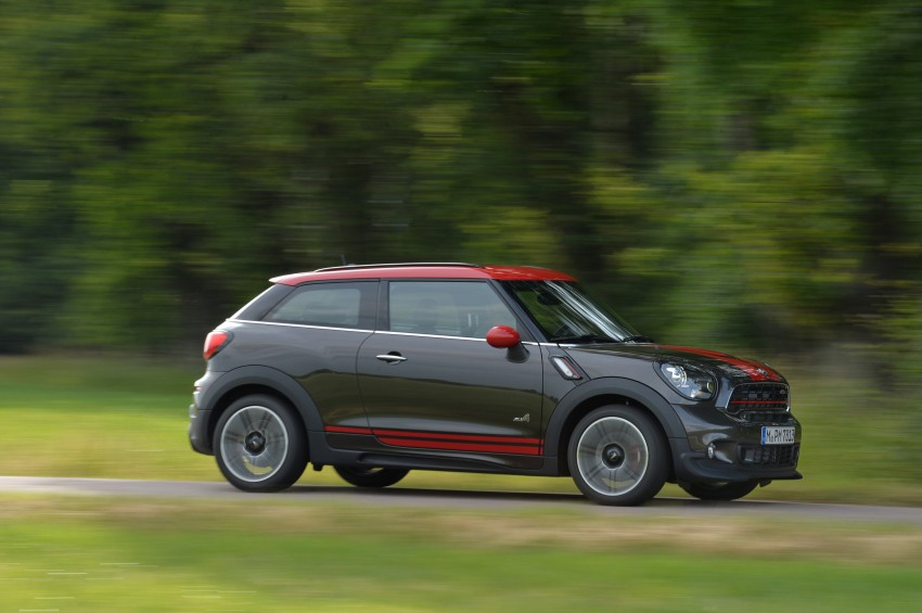 GALLERY: MINI Countryman, Paceman facelift detailed Image #258489