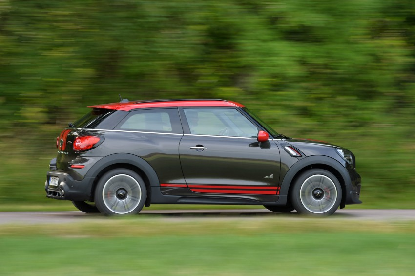 GALLERY: MINI Countryman, Paceman facelift detailed Image #258526
