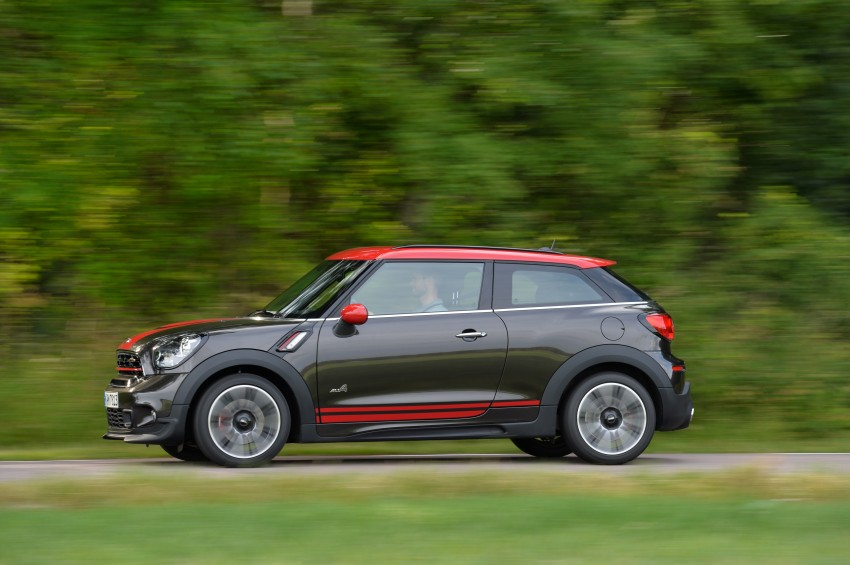 GALLERY: MINI Countryman, Paceman facelift detailed Image #258508
