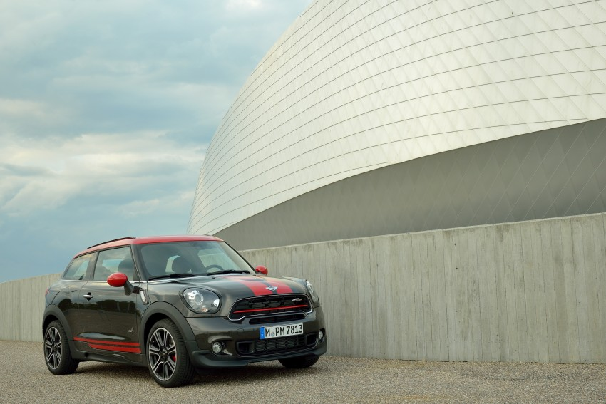 GALLERY: MINI Countryman, Paceman facelift detailed Image #258413