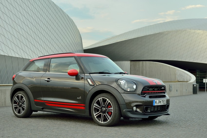 GALLERY: MINI Countryman, Paceman facelift detailed Image #258409