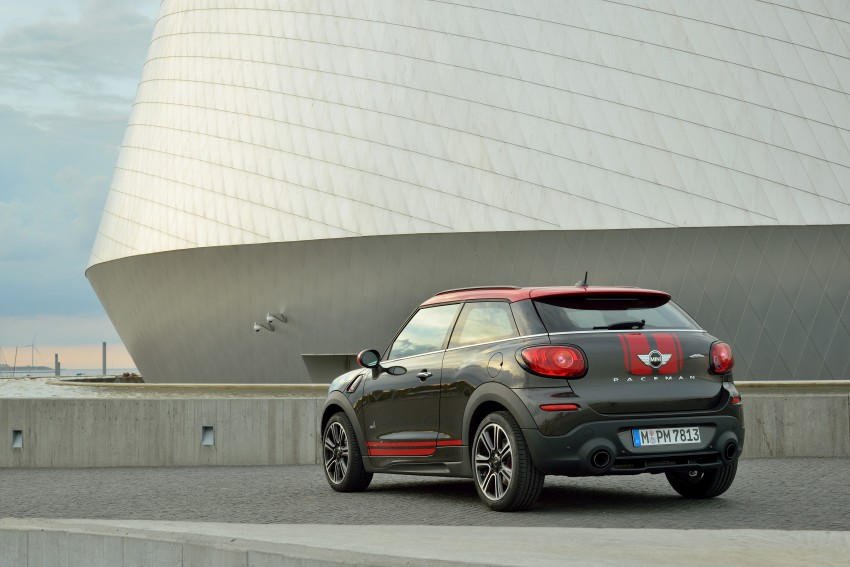 GALLERY: MINI Countryman, Paceman facelift detailed Image #258437