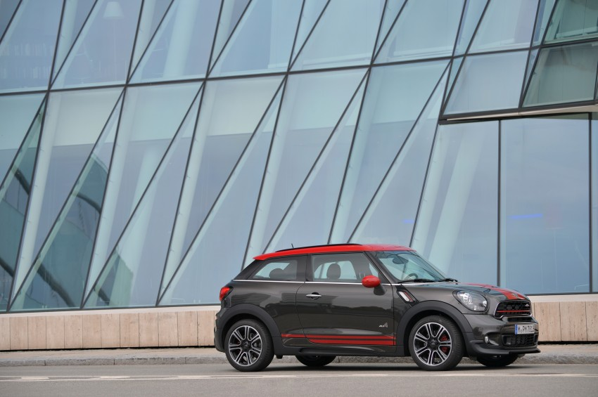 GALLERY: MINI Countryman, Paceman facelift detailed Image #258533