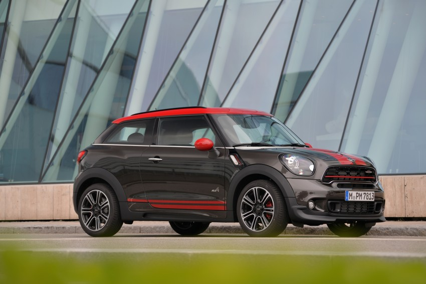 GALLERY: MINI Countryman, Paceman facelift detailed Image #258541