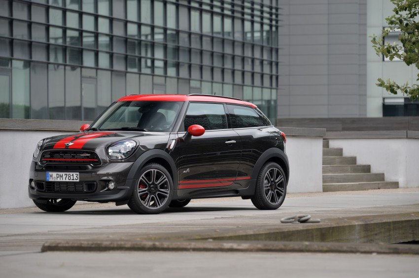 GALLERY: MINI Countryman, Paceman facelift detailed Image #258521