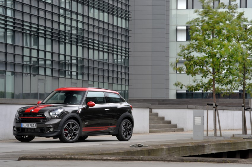 GALLERY: MINI Countryman, Paceman facelift detailed Image #258502