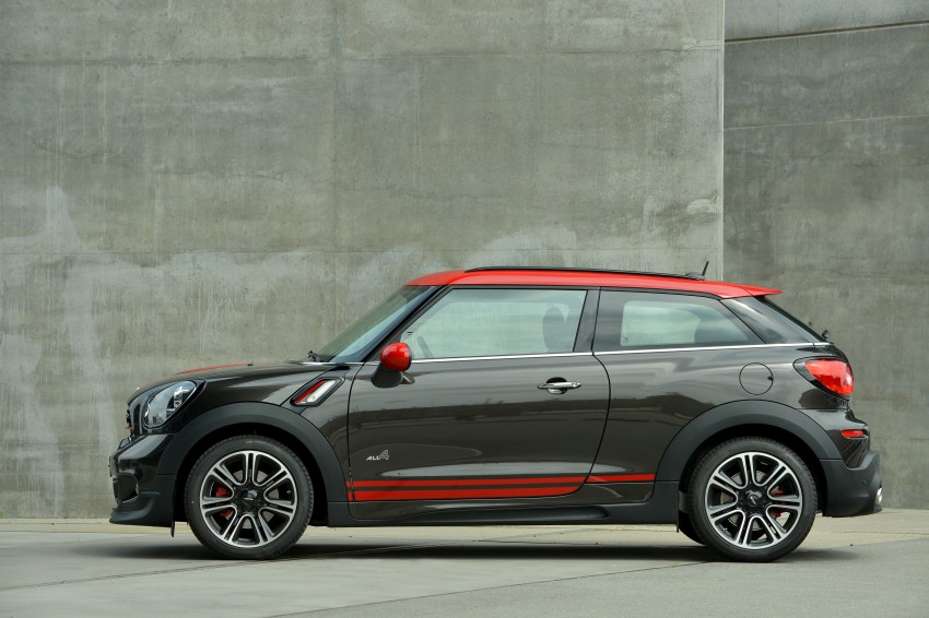 GALLERY: MINI Countryman, Paceman facelift detailed Image #258427