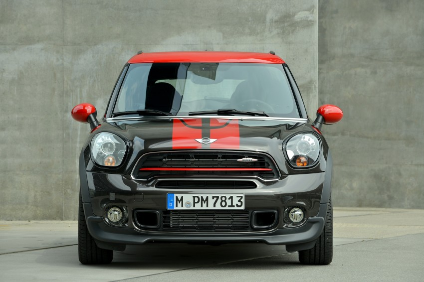 GALLERY: MINI Countryman, Paceman facelift detailed Image #258475