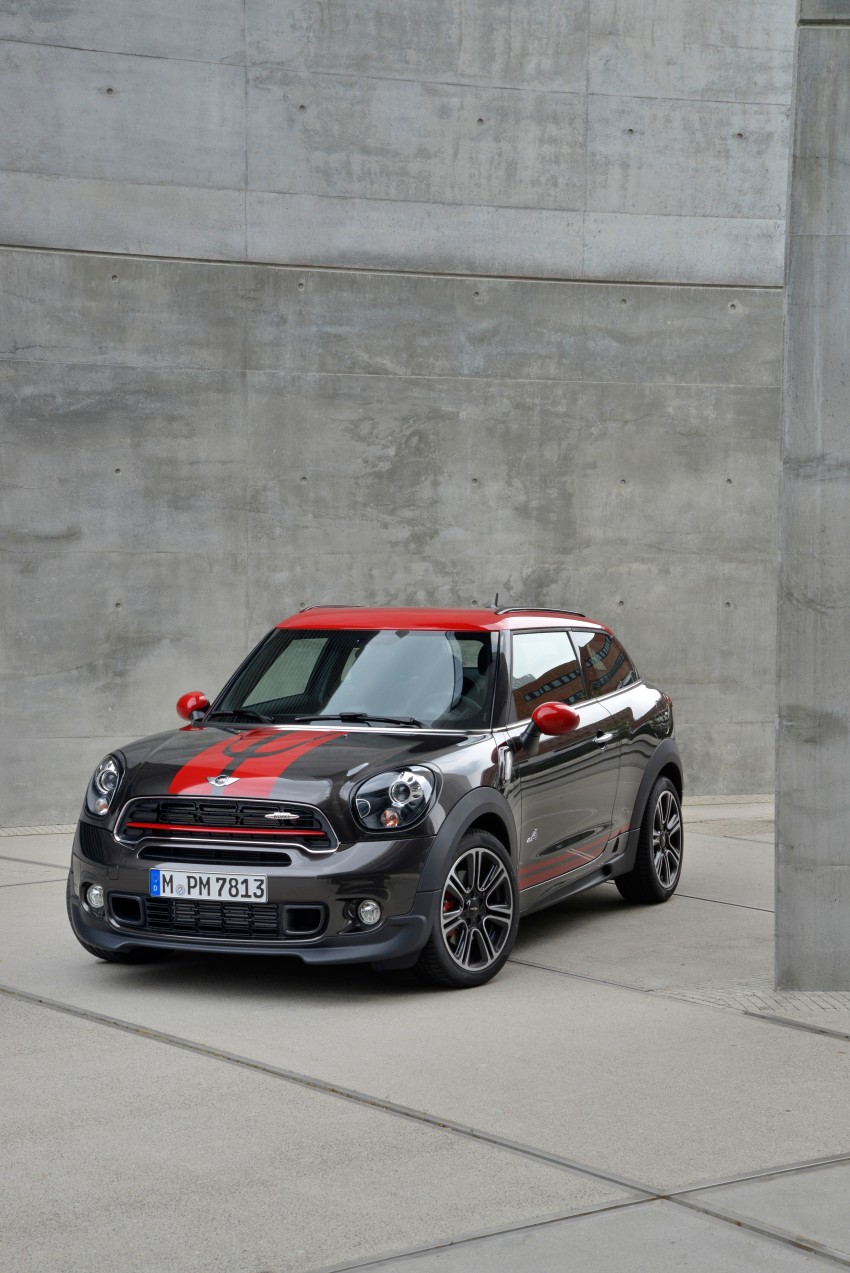 GALLERY: MINI Countryman, Paceman facelift detailed Image #258415
