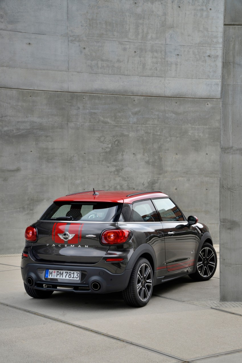 GALLERY: MINI Countryman, Paceman facelift detailed Image #258411