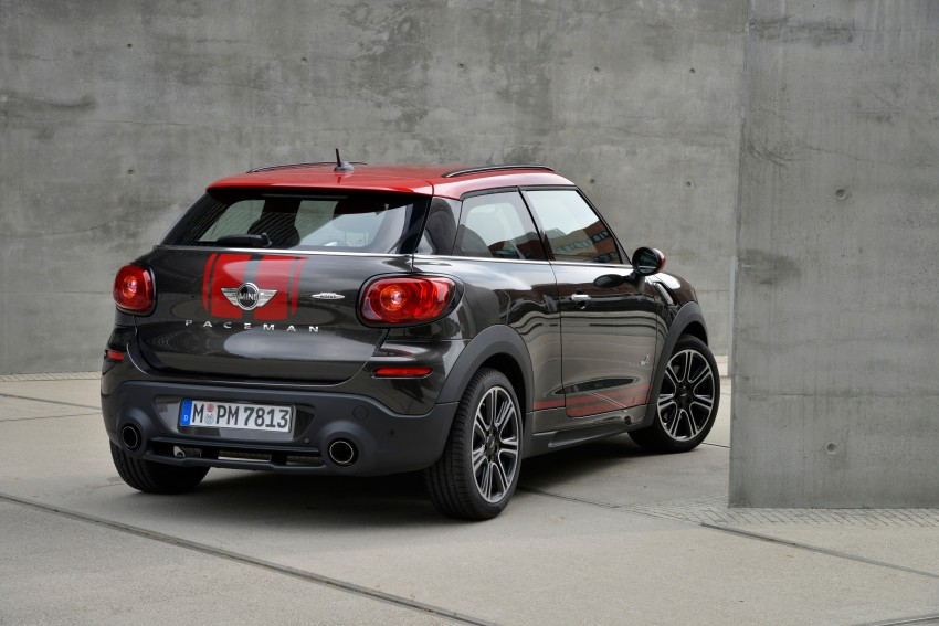 GALLERY: MINI Countryman, Paceman facelift detailed Image #258426