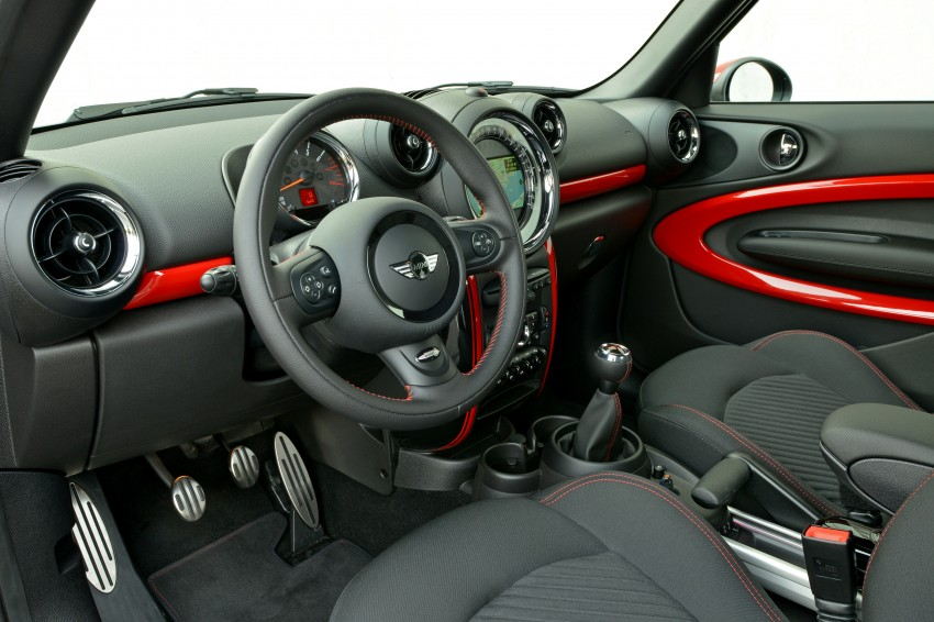 GALLERY: MINI Countryman, Paceman facelift detailed Image #258412