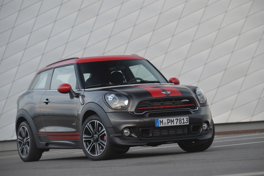 GALLERY: MINI Countryman, Paceman facelift detailed Image #258559