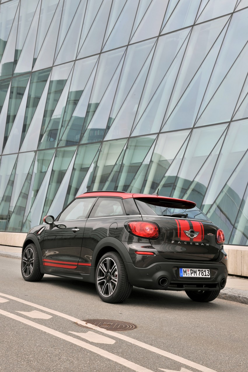 GALLERY: MINI Countryman, Paceman facelift detailed Image #258432