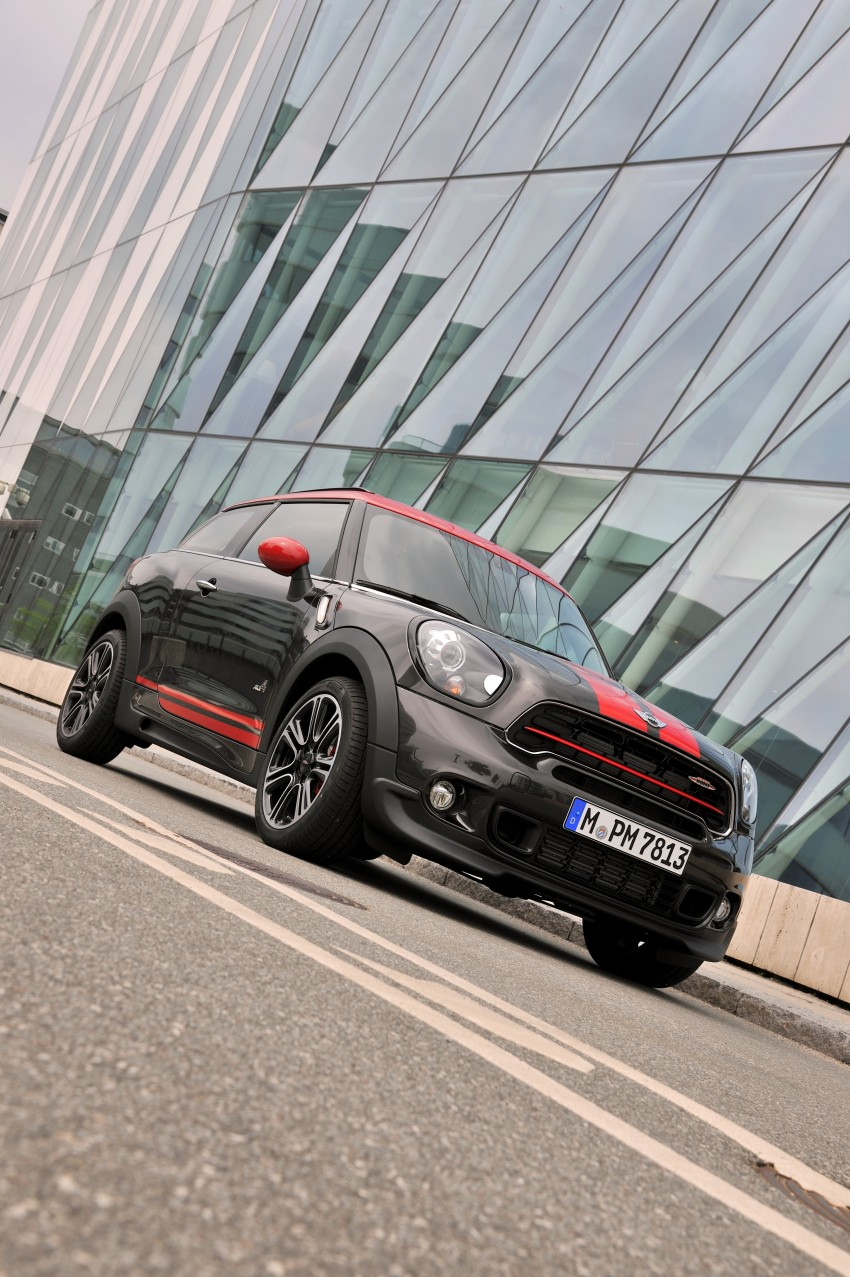 GALLERY: MINI Countryman, Paceman facelift detailed Image #258452