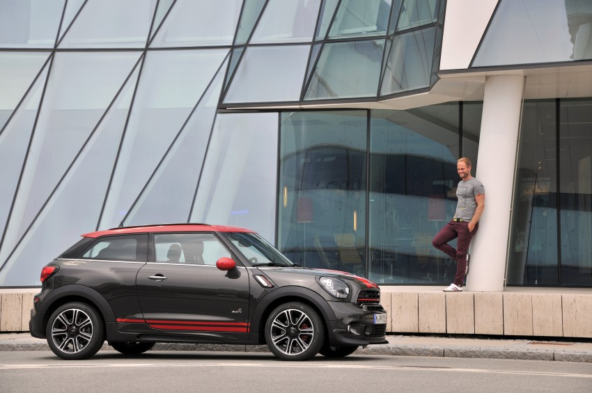 GALLERY: MINI Countryman, Paceman facelift detailed Image #258482