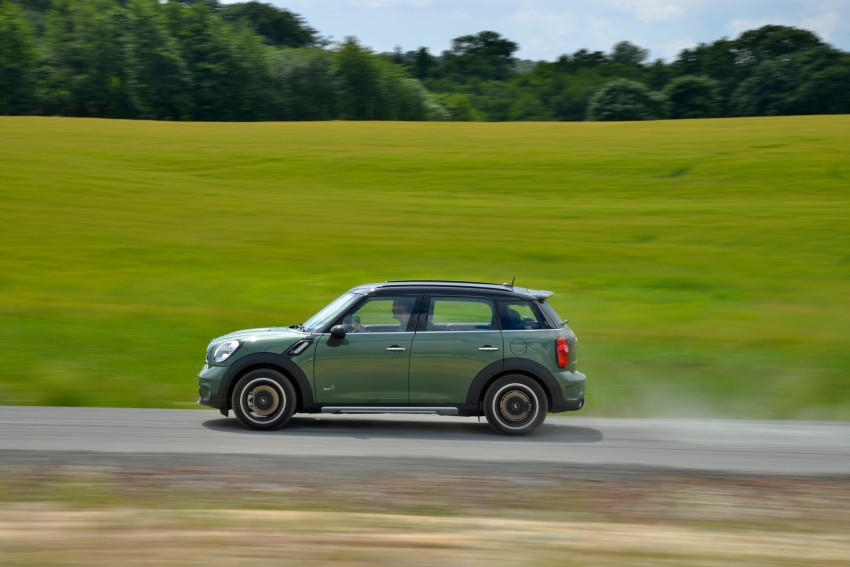GALLERY: MINI Countryman, Paceman facelift detailed Image #258353