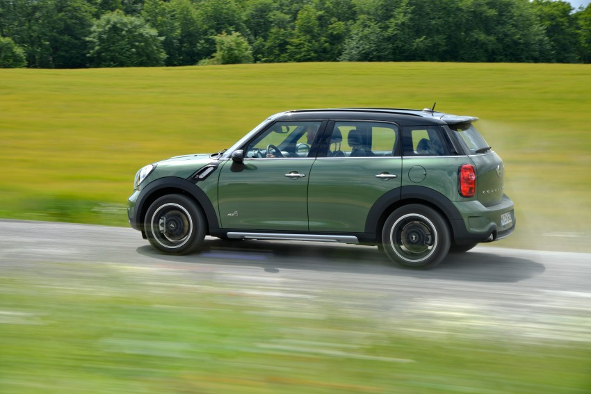 GALLERY: MINI Countryman, Paceman facelift detailed Image #258262