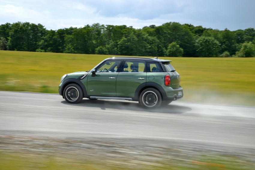 GALLERY: MINI Countryman, Paceman facelift detailed Image #258258