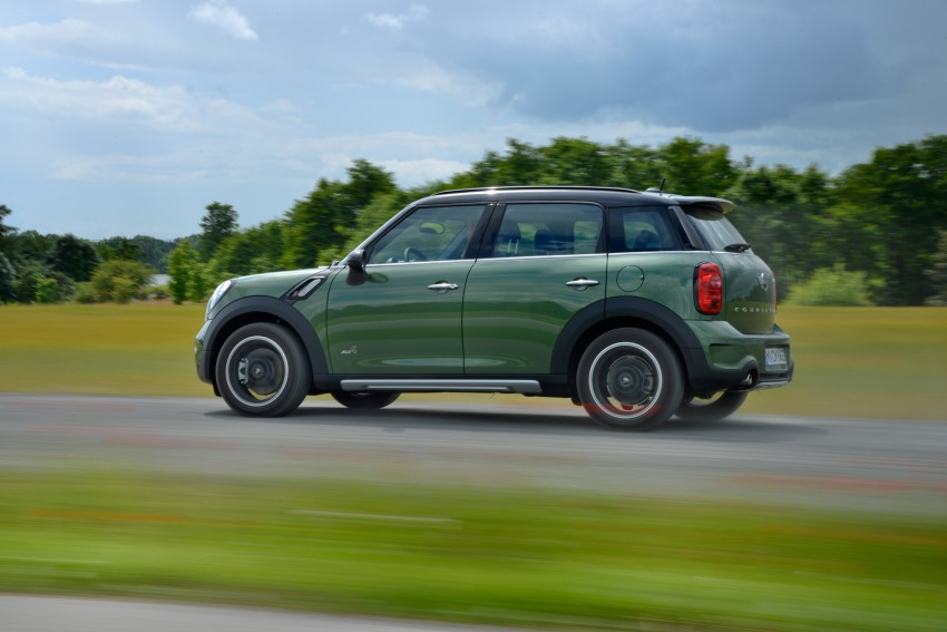 GALLERY: MINI Countryman, Paceman facelift detailed Image #258304