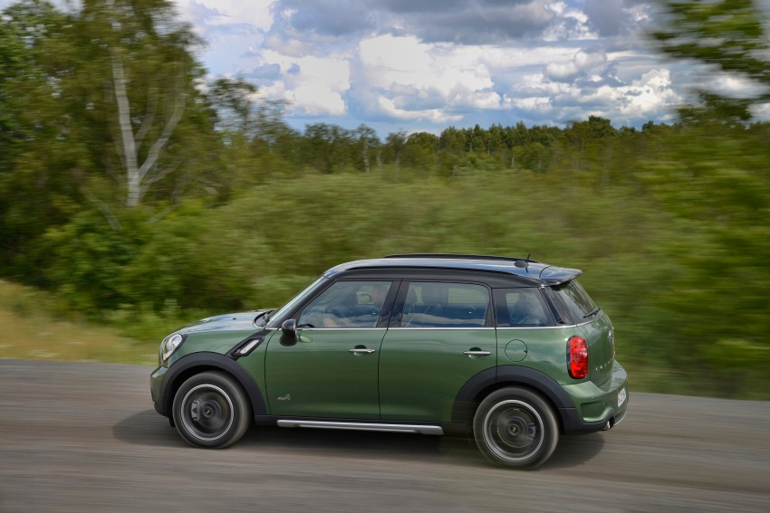 GALLERY: MINI Countryman, Paceman facelift detailed Image #258255