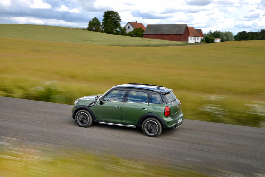 GALLERY: MINI Countryman, Paceman facelift detailed Image #258299