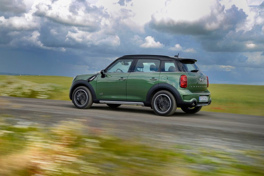 GALLERY: MINI Countryman, Paceman facelift detailed Image #258167