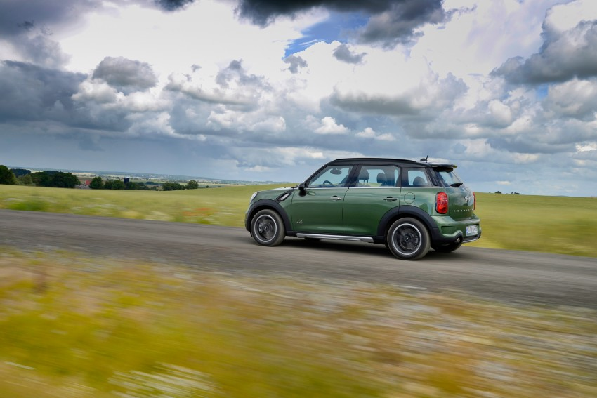 GALLERY: MINI Countryman, Paceman facelift detailed Image #258285