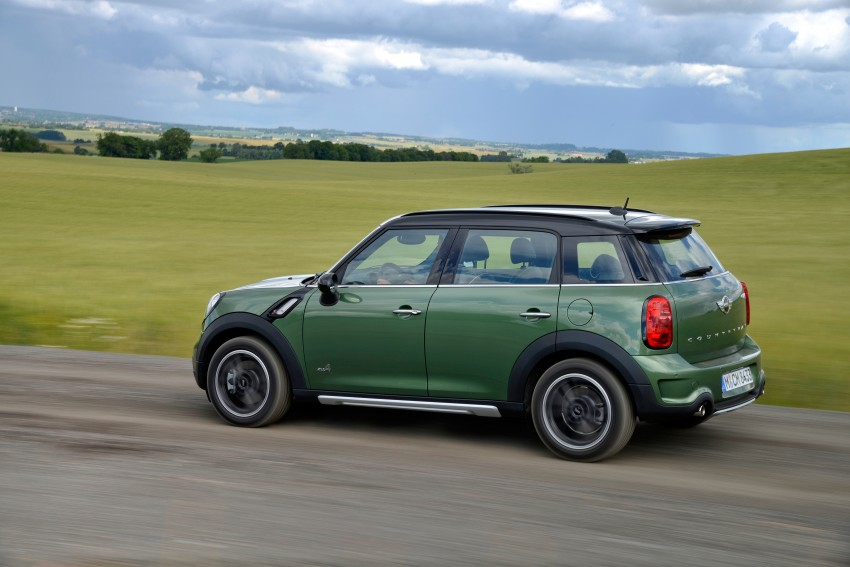 GALLERY: MINI Countryman, Paceman facelift detailed Image #258286