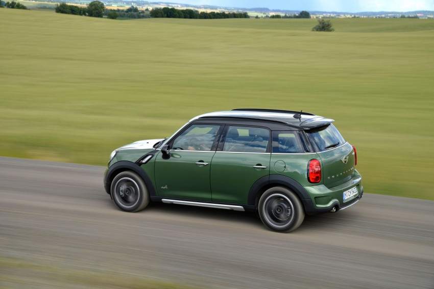 GALLERY: MINI Countryman, Paceman facelift detailed Image #258361