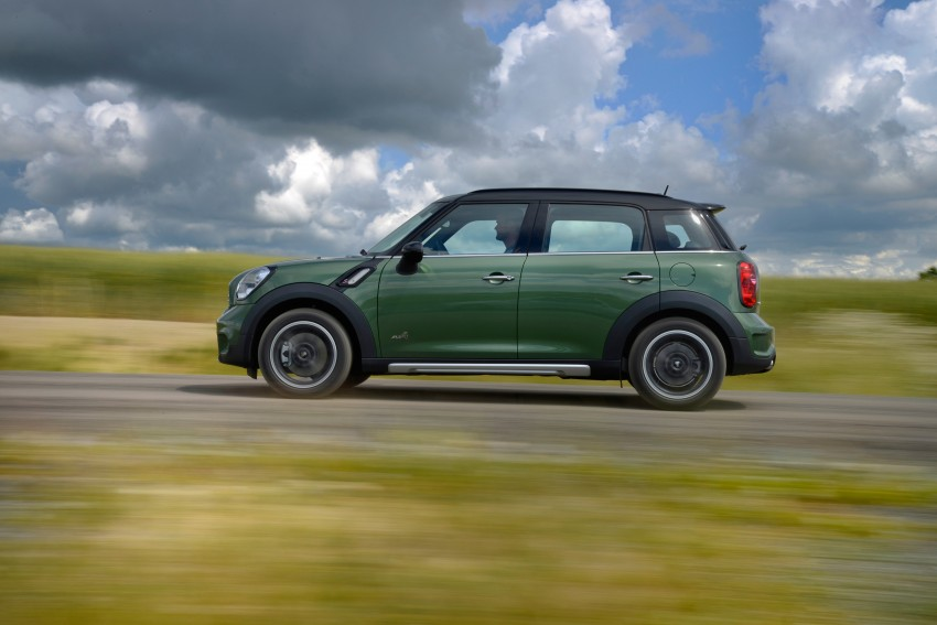 GALLERY: MINI Countryman, Paceman facelift detailed Image #258349