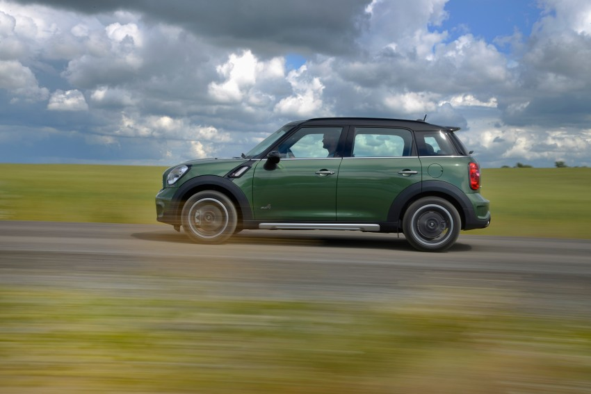 GALLERY: MINI Countryman, Paceman facelift detailed Image #258363
