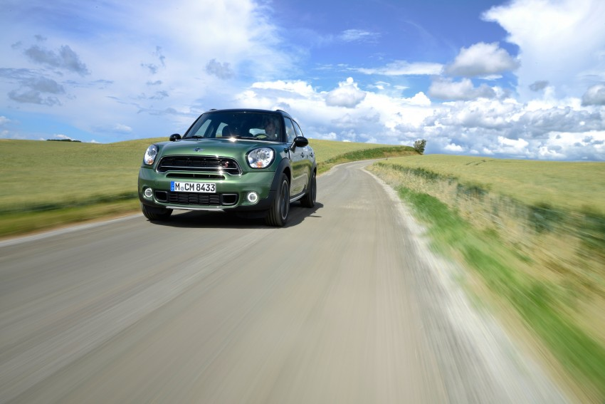 GALLERY: MINI Countryman, Paceman facelift detailed Image #258329