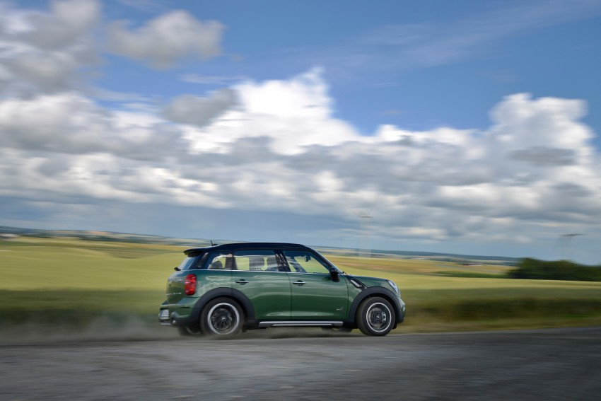 GALLERY: MINI Countryman, Paceman facelift detailed Image #258356