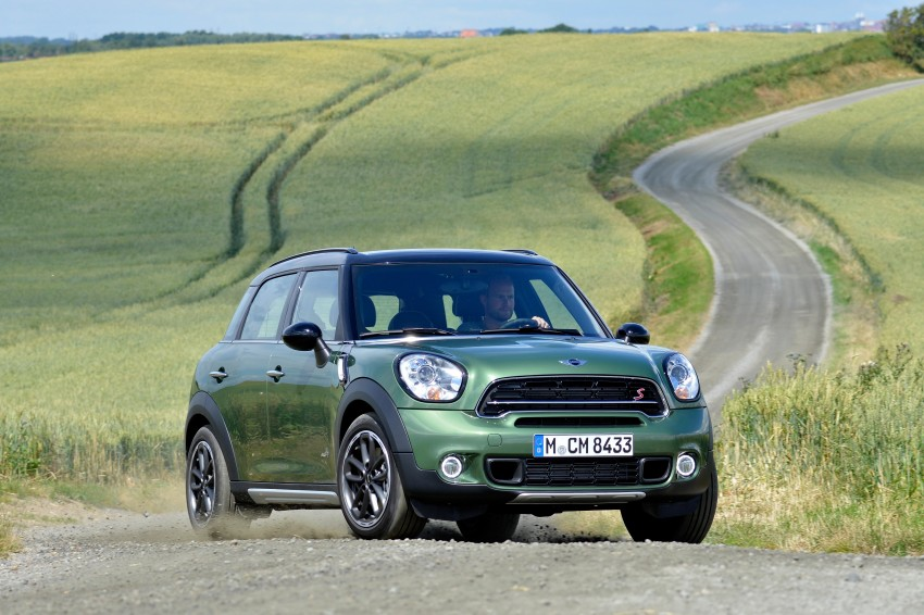 GALLERY: MINI Countryman, Paceman facelift detailed Image #258209