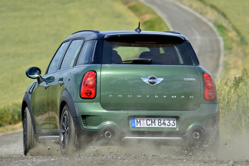 GALLERY: MINI Countryman, Paceman facelift detailed Image #258264