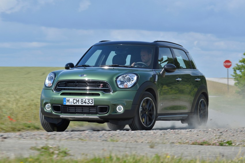 GALLERY: MINI Countryman, Paceman facelift detailed Image #258233