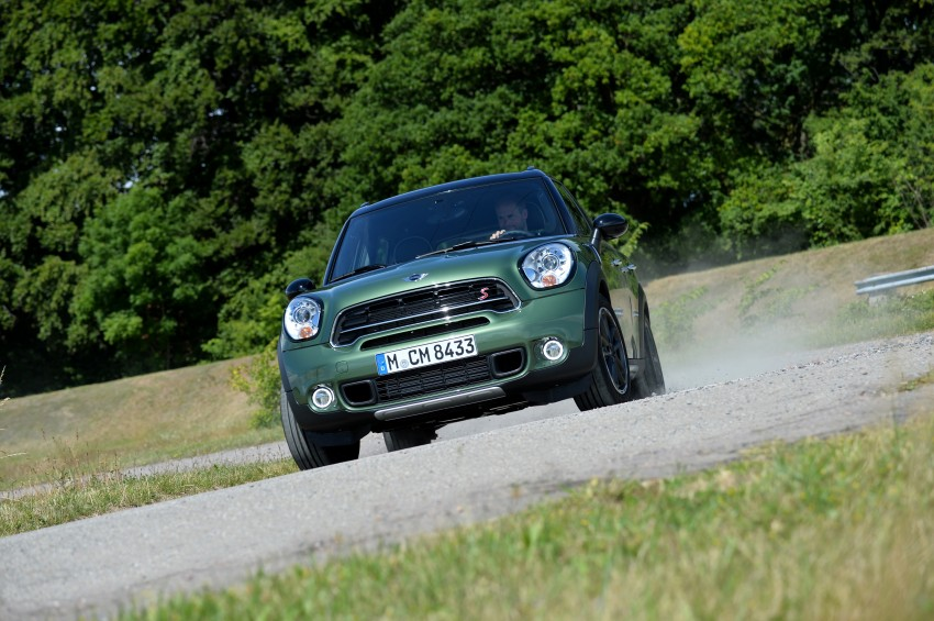 GALLERY: MINI Countryman, Paceman facelift detailed Image #258232