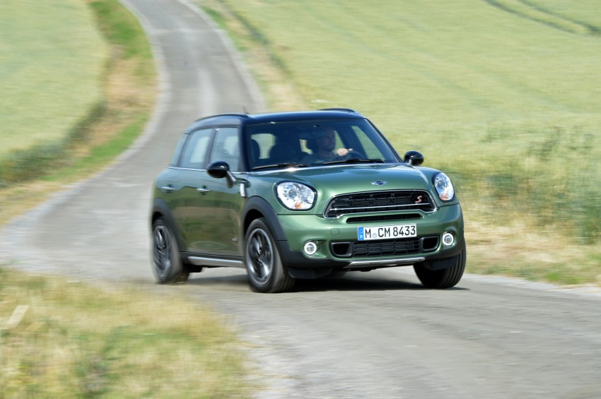 GALLERY: MINI Countryman, Paceman facelift detailed Image #258376