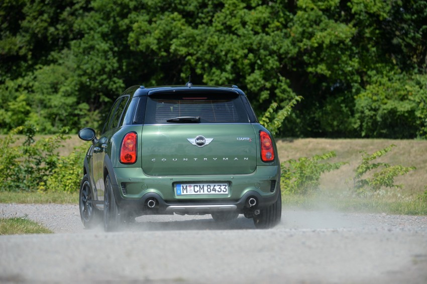GALLERY: MINI Countryman, Paceman facelift detailed Image #258307