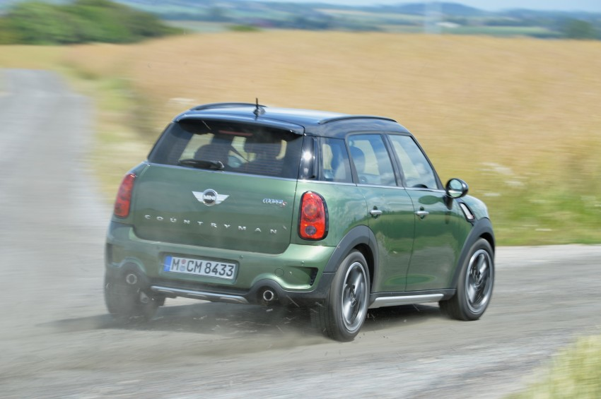 GALLERY: MINI Countryman, Paceman facelift detailed Image #258378