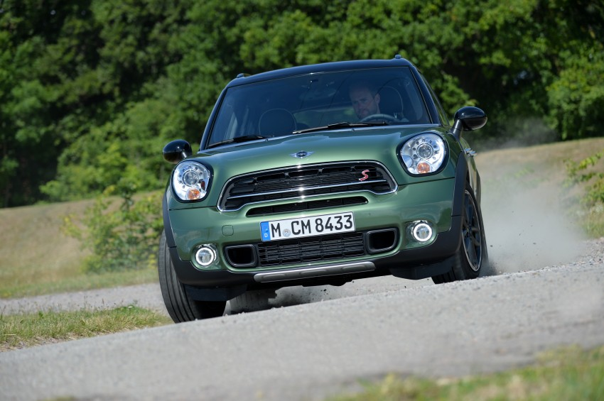 GALLERY: MINI Countryman, Paceman facelift detailed Image #258350