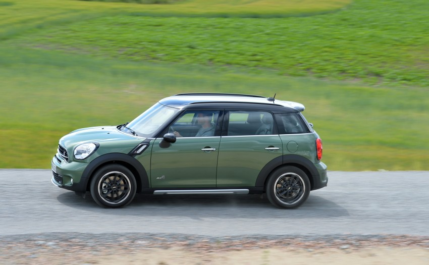 GALLERY: MINI Countryman, Paceman facelift detailed Image #258371