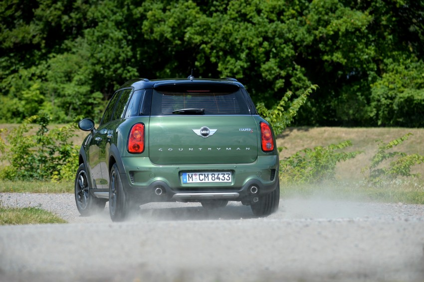 GALLERY: MINI Countryman, Paceman facelift detailed Image #258311