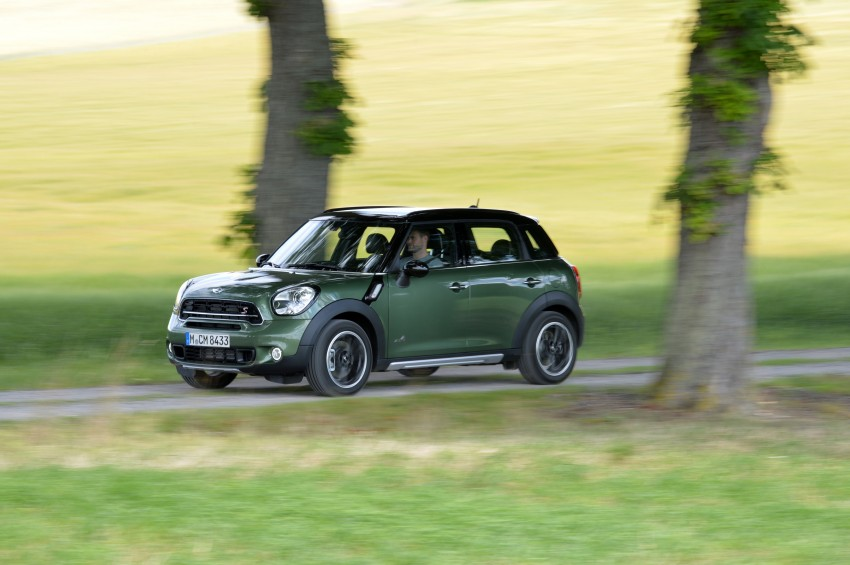 GALLERY: MINI Countryman, Paceman facelift detailed Image #258372