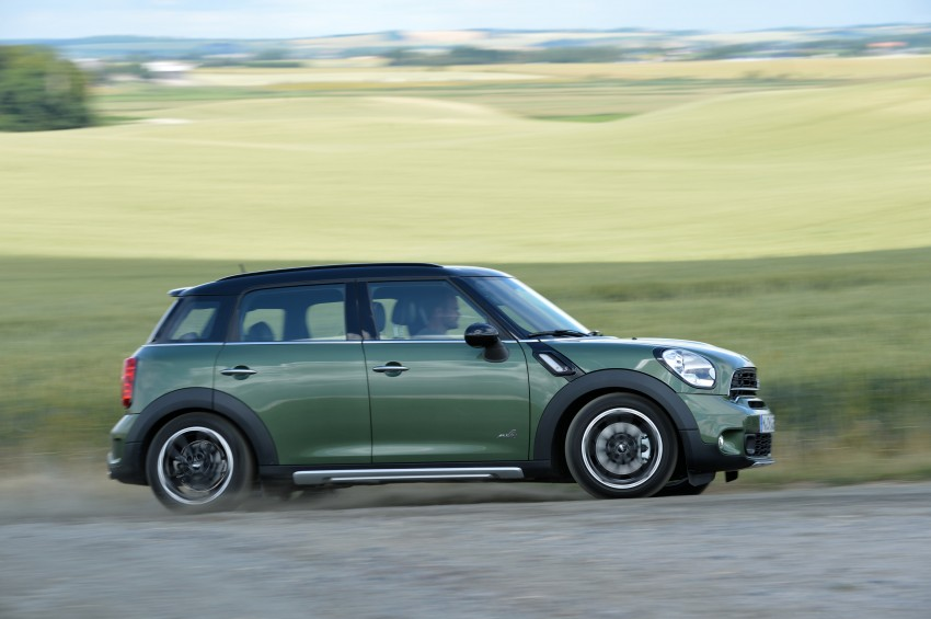 GALLERY: MINI Countryman, Paceman facelift detailed Image #258388
