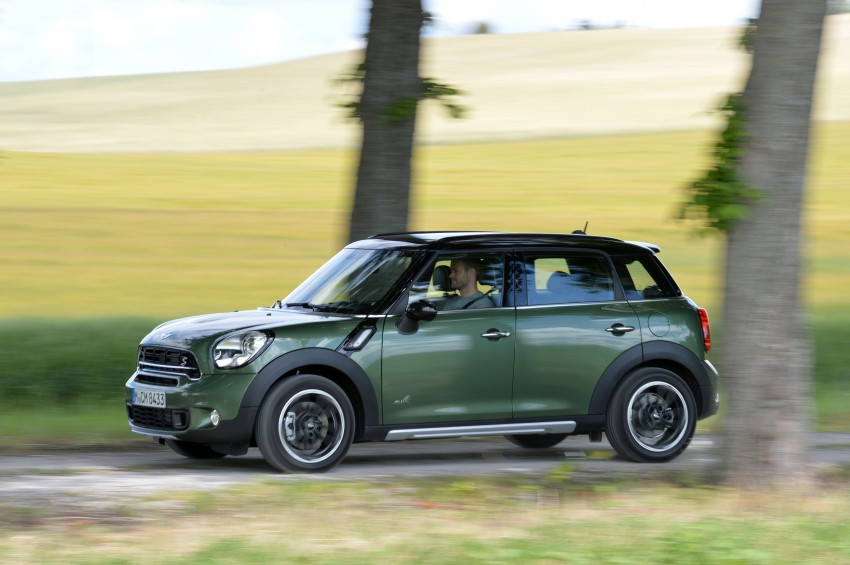 GALLERY: MINI Countryman, Paceman facelift detailed Image #258377