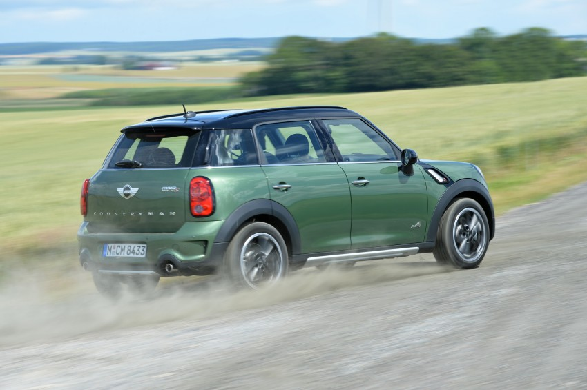 GALLERY: MINI Countryman, Paceman facelift detailed Image #258373